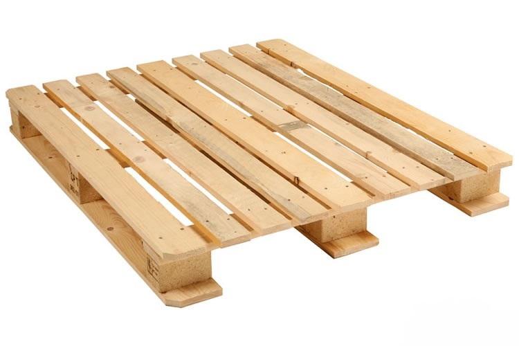 Nieuwe houten CP1 pallet 100x120cm