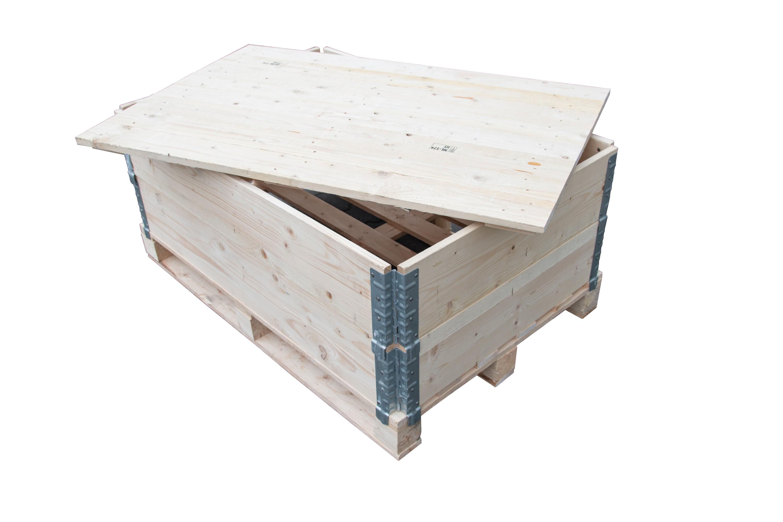 Houten deksel 80x120 voor opzetranden palletranden - Deksel x ...